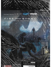 FIRE AND STONE - ALIENS UNIVERSE  COMPLETE COLLECTION PACK ( BOX VUOTO + VARIANT)
