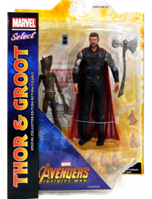 MARVEL SELECT  AVENGERS INFINITY WAR - THOR & GROOT