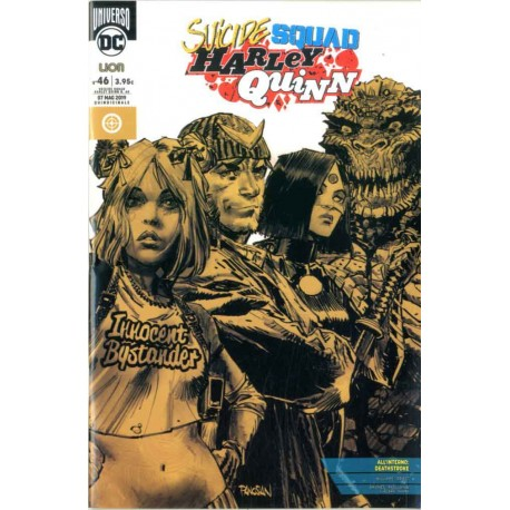 SUICIDE SQUAD/HARLEY QUINN  68/46