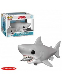 POP MOVIES  759 JAWS - GREAT WHITE SHARK WITH DIVING TANK