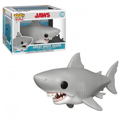 POP MOVIES  758 JAWS - GREAT WHITE SHARK