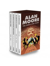 ALAN MOORE THE REBELLION YEARS  COFANETTO COMPLETO