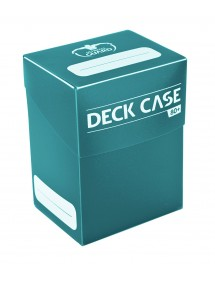 DECK BOX  ULTIMATE GUARD - DECK CASE 80 STANDARD SIZE PETROL BLUE