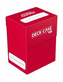 DECK BOX  ULTIMATE GUARD - DECK CASE 80 STANDARD SIZE ROSSO