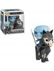 POP RIDES  60 GAME OF THRONES - MOUNTED WHITE WALKER