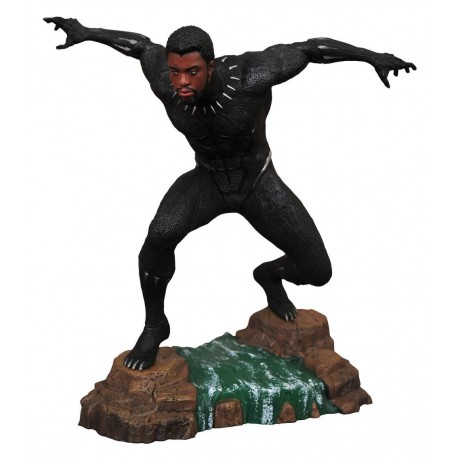 MARVEL GALLERY PVC DIORAMA BLACK PANTHER UNMASKED