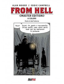 FROM HELL MASTER EDITION A COLORI  3 DALL'INFERNO