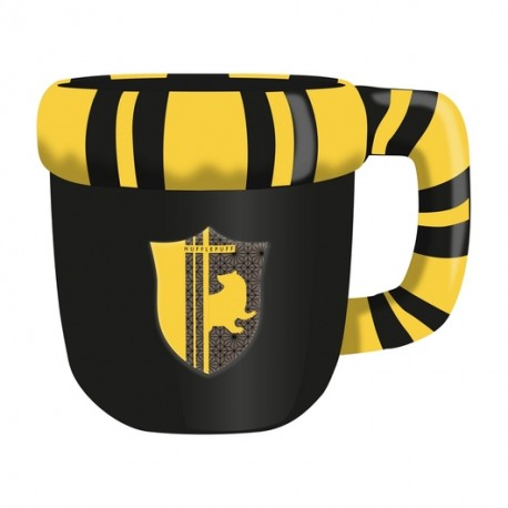HARRY POTTER  SHAPLED MUG HUFFLEPUFF