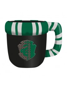 HARRY POTTER  SHAPED MUG SLYTHERIN