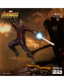 IRON STUDIOS  AVENGERS INFINITY WAR BDS ART STATUE SCALE 1/10 - STAR-LORD