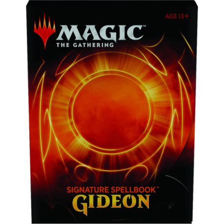 MAGIC GIDEON  SIGNATURE SPELLBOOK