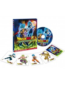 DRAGON BALL SUPER IL FILM - BROLY  LIMITED EDITION DVD+5 SPECIAL CARDS