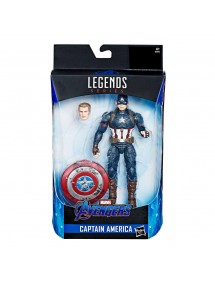 MARVEL LEGENDS BUILD A FIGURE COLLECTION CAPTAIN AMERICA