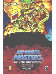 MINICOMIC COLLECTION  4 HE-MAN AND THE MASTERS OF THE UNIVERSE