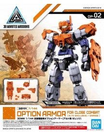 30 MINUTES MISSIONS  OPTION ARMOR FOR CLOSE COMBAT ORANGE