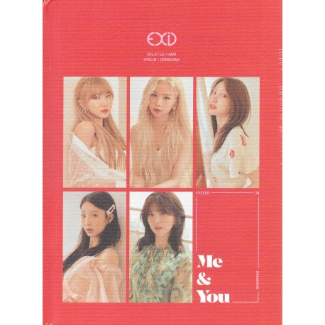 K-POP CD  EXID ME AND YOU