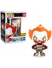 POP MOVIES  778 IT - PENNYWISE WITH SKATEBOARD