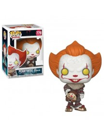 POP MOVIES  779 IT - PENNYWISE WITH BEAVER HAT