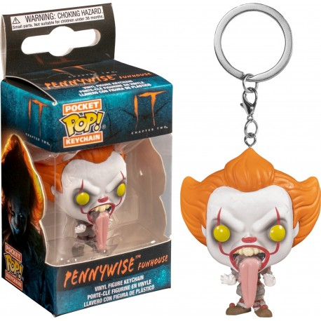 POP POCKET KEYCHAIN  IT - PENNYWISE FUNHOUSE
