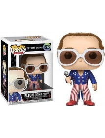 POP ROCKS  63 ELTON JOHN RED, WHITE & BLUE