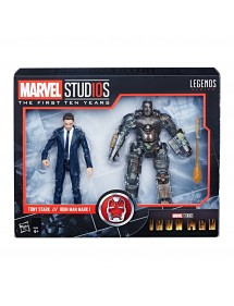 MARVEL LEGENDS SERIES  IRON MAN - TONY STARK//IRON MAN MARK I (15CM)