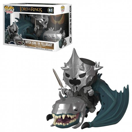POP RIDES  63 LORD OF THE RINGS - WITCH KING ON FELLBEAST