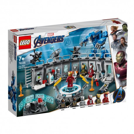LEGO  76125 AVENGERS - IRON MAN HALL OF ARMOUR