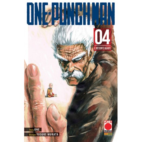 ONE-PUNCH MAN  4 RISTAMPA