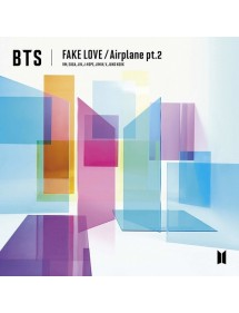 K-POP CD  BTS - FAKE LOVE AIRPLANE PT.2