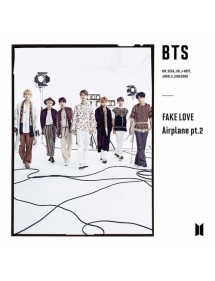 K-POP CD  BTS - FAKE LOVE AIRPLANE PT.2 LIMITED EDITION