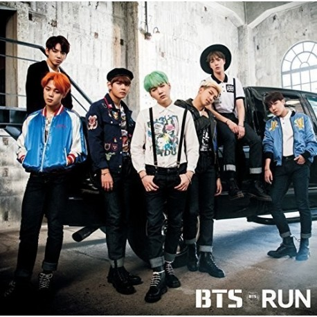 K-POP CD BTS - RUN