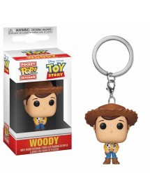 POP POCKET KEYCHAIN  TOY STORY 4 - WOODY
