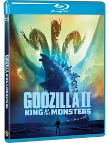GODZILLA  KING OF MONSTER BLU-RAY