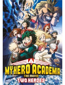 MY HERO ACADEMIA THE MOVIE TWO HEROES DVD