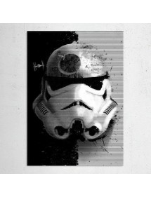 POSTER IN METALLO STARTROOPER