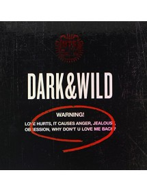 K-POP CD BTS - DARK&WILD VOL.1