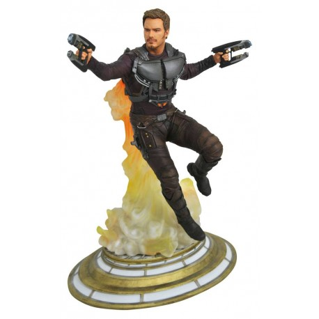 MARVEL GALLERY PVC DIORAMA GUARDIANS OF THE GALAXY MASKLESS STAR-LORD