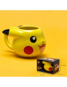 POKEMON PIKACHU TAZZA 3D