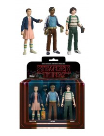 STRANGER THINGS 3-PACK ACTION FIGURE 8 CM (MIKE, ELEVEN, LUKAS)