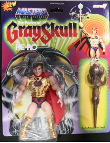 MASTERS OF THE UNIVERSE THE POWERS OF GRAYSKULL - HE-RO