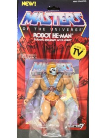 MASTERS OF THE UNIVERSE ROBOT HE-MAN