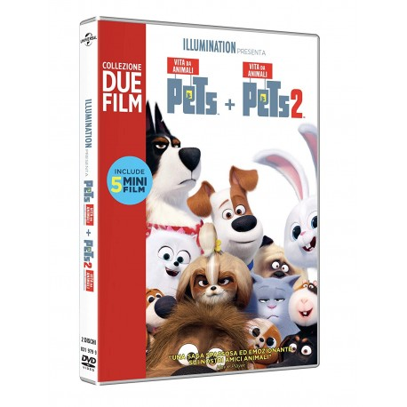 PETS COLLECTION PETS+PETS 2 DVD