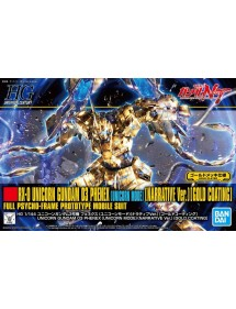 HG GUNDAM UNIVERSAL CENTURY SCALA 1:144 227 RX0 UNICORN 3 PHENEX UNICORN MODE