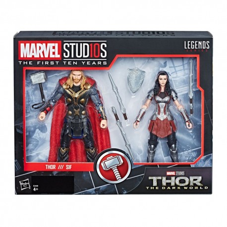 MARVEL LEGENDS SERIES THOR & SIF (15CM)