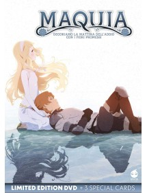 MAQUIA LIMITED EDITION + 3 SPECIAL CARDS BLU-RAY