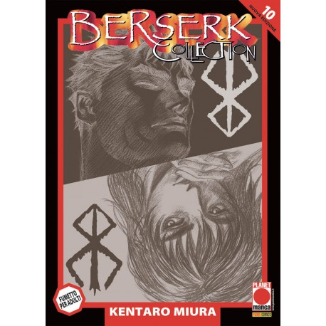 BERSERK COLLECTION SERIE NERA 10 QUARTA RISTAMPA