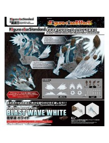 FIGURE-RISE EFFECT SHOCKWAVE BLAST WAVE WHITE