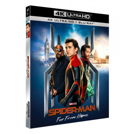 SPIDER-MAN FAR FROM HOME BLU-RAY 4K ULTRA HD