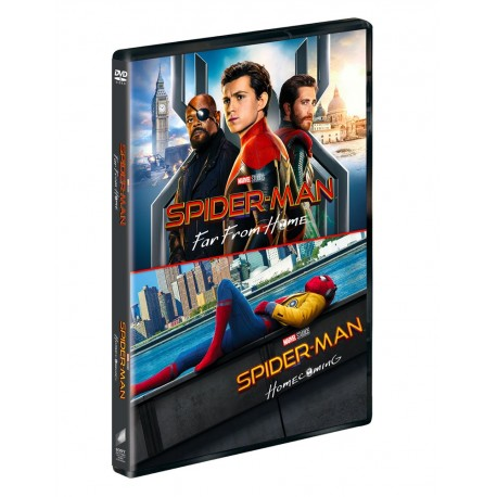 SPIDER-MAN FAR FROM HOME /HOMECOMING DVD