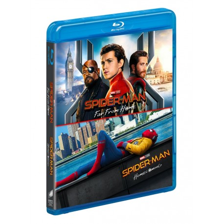 SPIDER-MAN FAR FROM HOME /HOMECOMING BLU-RAY